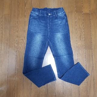 サマンサモスモス(SM2)のSM2blue デニムレギンス#パンツ L ブルー(デニム/ジーンズ)