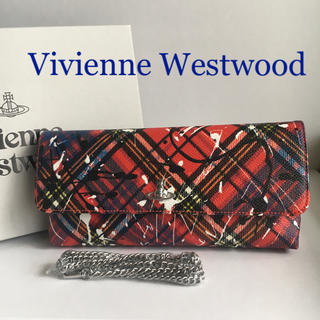 Vivienne Westwood - ヴィヴィアン ウエストウッド クラッチバッグ チェーンショルダー付き 新品