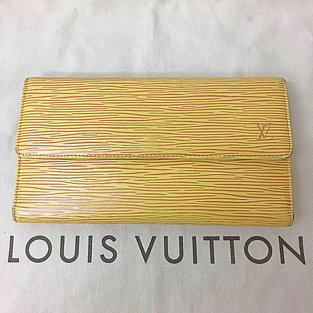 LOUIS VUITTON - 鑑定済み 正規品 ルイヴィトン LOUIS VUITTON エピ長財布 送料込みの通販 by 真's shop|ルイヴィトンならラクマ