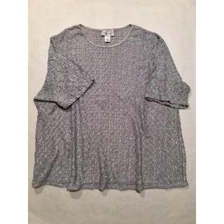【送料無料!】vintageシルバートップFittingImageXLサイズ(Tシャツ(長袖/七分))