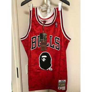 アベイシングエイプ(A BATHING APE)の新品未使用 Lサイズ bape nba bulls jordan(バスケットボール)
