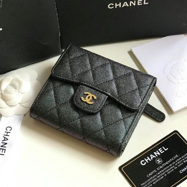 CHANEL - CHANEL 三つ折り財布の通販 by JIK's shop|シャネルならラクマ