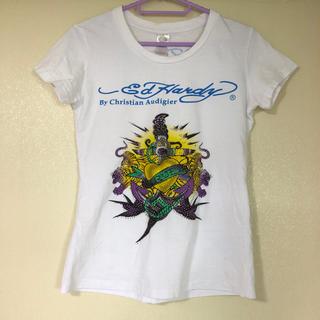 エドハーディー(Ed Hardy)のエドハーディー M ホワイト Tシャツ(Tシャツ(半袖/袖なし))