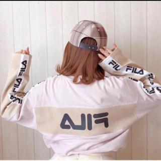 スナイデル(snidel)のSNIDEL♡即完 FILAコラボロンT(Tシャツ(長袖/七分))