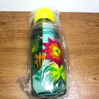 タリーズコーヒー(TULLY'S COFFEE)の☆新品未使用☆タリーズ  サマーバック フラワーセパレートボトル(タンブラー)