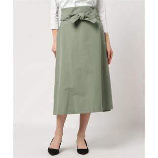 ティアラ(tiara)の新品❤️TIARA リボン付スカート(ロングスカート)
