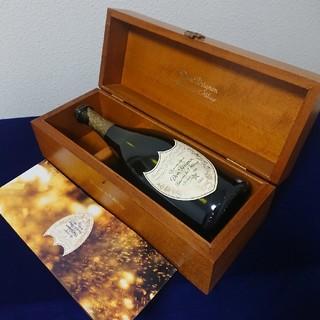 ドンペリニヨン(Dom Pérignon)の当時20万★ドン・ペリニヨン1992年ヴィンテージ空き瓶と専用チーク製化粧箱(シャンパン/スパークリングワイン)
