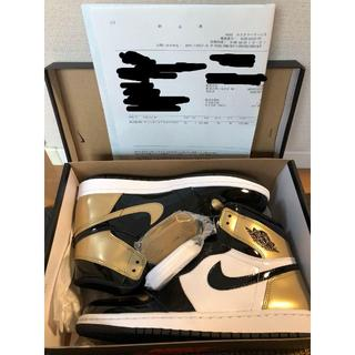 26cm AIR JORDAN Retro High OG NRG Gold(スニーカー)