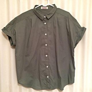 ダブルネーム(DOUBLE NAME)のダブルネームの半袖フレンチシャツ(シャツ/ブラウス(半袖/袖なし))