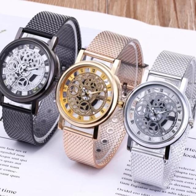 スーパーコピー時計 優良店 / メンズ*スケルトン*腕時計*アナログ*シルバー*新品の通販 by つむ's shop|ラクマ