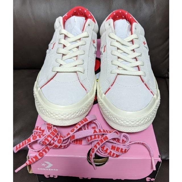 25.5cm【送料込】CONVERSE HELLO KITTY ONE STAR レディースの靴/シューズ(スニーカー)の商品写真