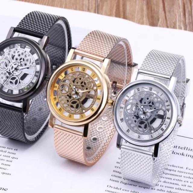 ロレックスエアキングスーパーコピー 優良店 、 メンズ*スケルトン*腕時計*アナログ*シルバー*新品の通販 by つむ's shop|ラクマ