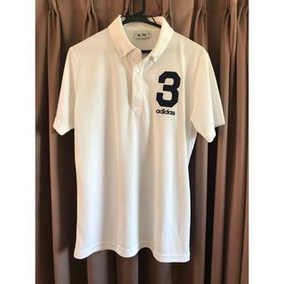 アシックス(asics)のポロシャツ アシックス asics 白 M(ポロシャツ)