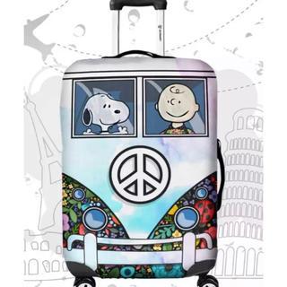 スヌーピー(SNOOPY)のラスト1点!再入荷!スーツケースカバー スヌーピー  S(スーツケース/キャリーバッグ)