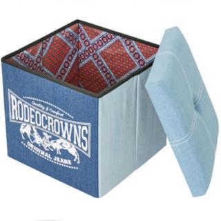 ロデオクラウンズ(RODEO CROWNS)のロデオクラウンズ ノベルティー デニムストレージボックス rodeocrowns(その他)