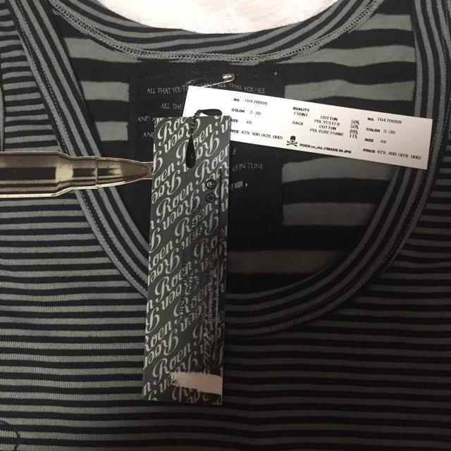 Roen(ロエン)のロエン タンクトップ メンズのトップス(タンクトップ)の商品写真