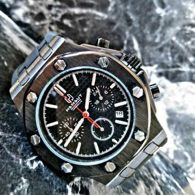 アクアノウティック時計スーパーコピー時計激安 | 海外限定【Hery.HMSUT3680】腕時計 ウォッチ フルブラックマグナムの通販 by レビサウンド's shop|ラクマ