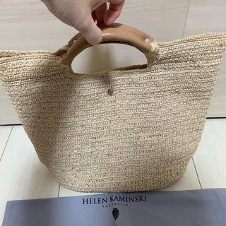 ヘレンカミンスキー(HELEN KAMINSKI)のお盆限定セール! ヘレンカミスキー カゴバッグ(かごバッグ/ストローバッグ)