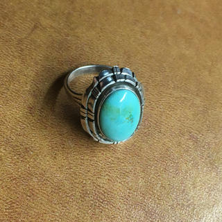 エルメス(Hermes)のNavajo ナバホ族 リング ターコイズ(リング(指輪))