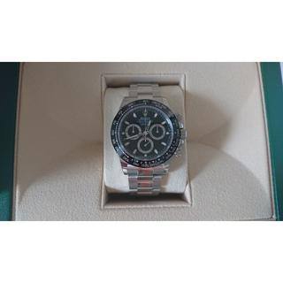 ロレックス(ROLEX)の2019.08購入【新品未使用/国内正規】デイトナ 116500LN(黒文字盤)(腕時計(アナログ))