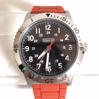 コーチ(COACH)のCOACH コーチ 腕時計 電池交換済み アナログ(腕時計(アナログ))