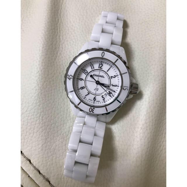 CHANEL - シャネルセラミック腕時計レディースの通販 by やよいじだいのやよい's shop|シャネルならラクマ