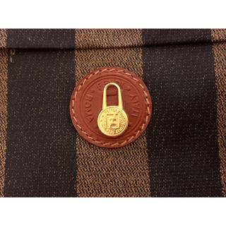 フェンディ(FENDI)の正規品 フェンディ FENDI バッグチャームトップ ネックレス ゴールド (ネックレス)