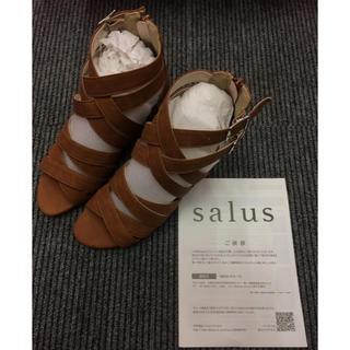 サルース(salus)のsalus 足の疲れないサンダル未使用品(サンダル)