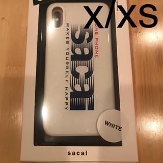 サカイ(sacai)のsacai iPhoneケース X/XS (iPhoneケース)