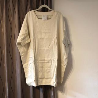 ビアズリー(BEARDSLEY)のリネン シャツ ロング(シャツ/ブラウス(半袖/袖なし))