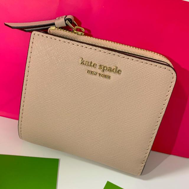 kate spade new york - kate spade♡二つ折り財布の通販 by えりりん's shop|ケイトスペードニューヨークならラクマ