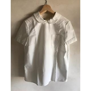ミュウミュウ(miumiu)の破格 新品未使用 ミュウミュウ丸襟トップス(カットソー(半袖/袖なし))