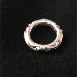 クロムハーツ(Chrome Hearts)の定価80万 クロムハーツ プラチナスクロールリング!chrome Hearts(リング(指輪))