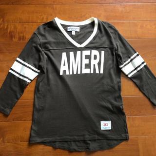 アメリカーナ(AMERICANA)のAMERICANA  AMERI フットボールT(Tシャツ(長袖/七分))