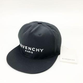 ジバンシィ(GIVENCHY)の【新品】 [GIVENCHY] キャンバス ロゴ フラットピークキャップ(キャップ)