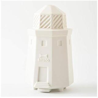イデアインターナショナル(I.D.E.A international)の【新品】BRUNO USBセラミックアロマディフューザー 灯台(アロマディフューザー)
