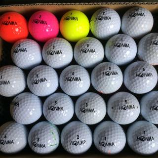 ホンマゴルフ(本間ゴルフ)のロストボール ホンマ 25球(その他)
