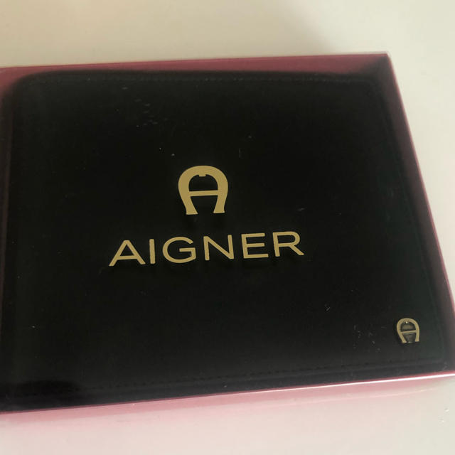 AIGNER - 新品未使用⭐︎AIGNER アイグナー 財布 黒の通販 by mayapon's shop|アイグナーならラクマ