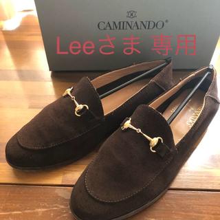 ドゥーズィエムクラス(DEUXIEME CLASSE)のCAMINANDO/別注SUEDE BIT SLIP ON SHOES(ローファー/革靴)