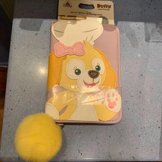 ダッフィー(ダッフィー)のクッキー パスポートケース 香港ディズニー(旅行用品)