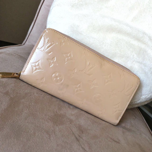 LOUIS VUITTON - ルイヴィトン♡ヴェルニ ジッピーウォレット♡長財布♡ベージュの通販 by S's shop|ルイヴィトンならラクマ
