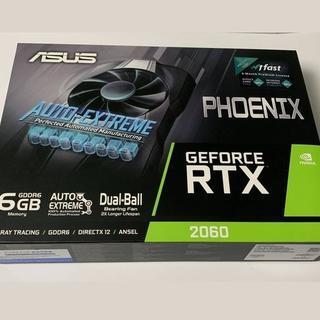 エイスース(ASUS)の未使用 ASUS RTX2060 PH-RTX2060-6G NVIDIA(PCパーツ)