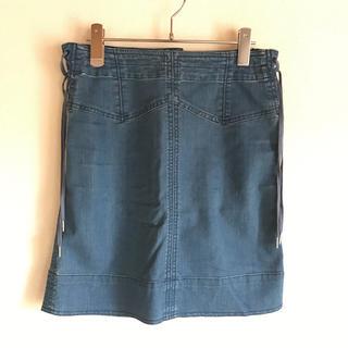 マークバイマークジェイコブス(MARC BY MARC JACOBS)のマークバイマークジェイコブスのデニムスカート(ひざ丈スカート)