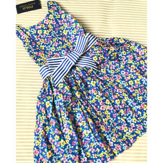 ラルフローレン(Ralph Lauren)のsale‼︎ラルフローレン ワンピース 花柄 100センチ(ワンピース)