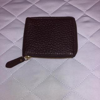 コールハーン(Cole Haan)のCOLE HAAN ラウンドファスナー二つ折財布 未使用(折り財布)