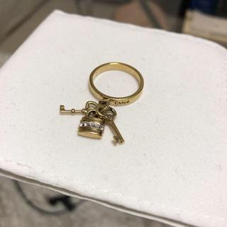 クロエ(Chloe)のリング 指輪 クロエ 鍵 キーモチーフ ゴールド chloe(リング(指輪))