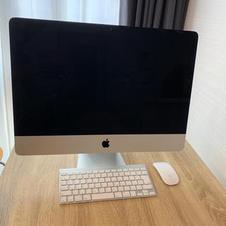 マック(Mac (Apple))の【美品】Apple iMac 21.5inch Late 2012(デスクトップ型PC)