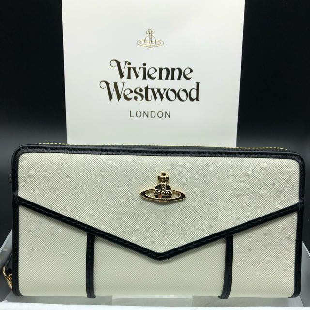 Vivienne Westwood - 【新品・正規品】ヴィヴィアンウエストウッド 長財布 317 白の通販 by NY's shop|ヴィヴィアンウエストウッドならラクマ