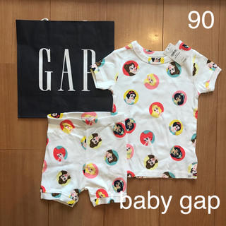 ベビーギャップ(babyGAP)の今季新作★baby gapディズニープリンセスパジャマ90(パジャマ)