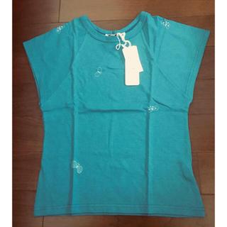 ミナペルホネン(mina perhonen)の新品 ミナペルホネン  choucho カットソー Tシャツ 36(カットソー(半袖/袖なし))